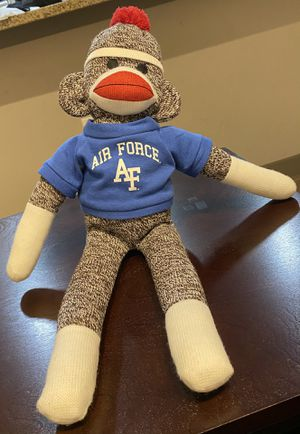 "20"" Air Force Blue Sock Monkey by Pennington Bear Company for Sale in Friendswood, TX"