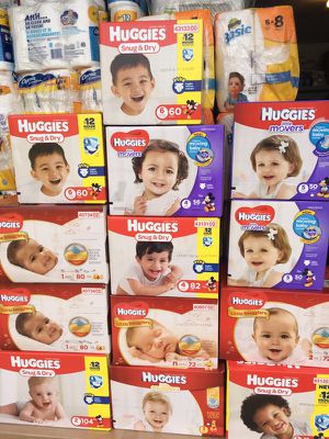 Baby diapers, wipes, pull ups, bathroom tissue, paper towel and more!! for Sale in Lehigh Acres, FL
