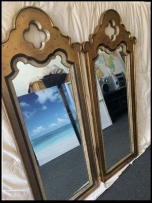 Pair of Wall Mirrors for Sale in Chicago, IL