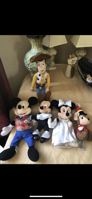 Disney stuffed animals $15 for all price is firm for Sale in North Las Vegas, NV