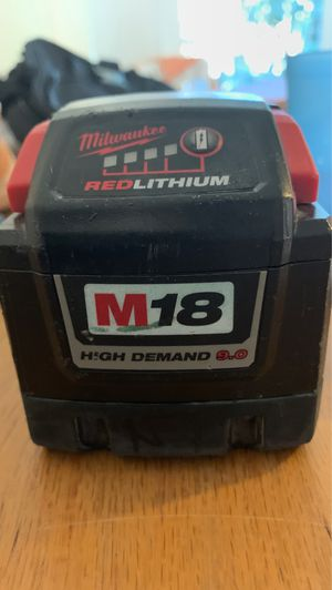 Milwaukee batteries for Sale in El Cajon, CA