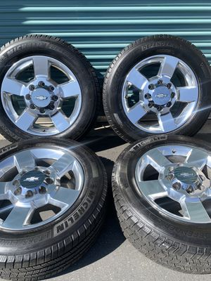Chevy Silverado 2500 3500 Factory Wheels for Sale in Fontana, CA
