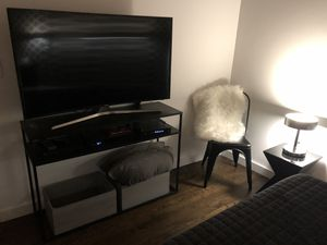 Black Metal Console Table for Sale in Chicago, IL