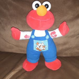 "1997 Tyco Preschool 11"" Talking Elmo with Puppy Dog Overalls for Sale in Los Lunas, NM"