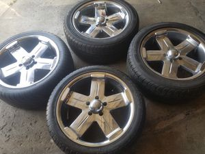 "Rims 18""s for chevy camaro s10 blazer BMW Pilot Terrein Impala malibu for Sale in Chicago, IL"