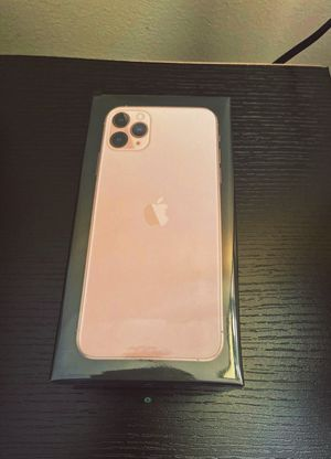 ⇬ New Still Sealed In The Box Apple iPhone 11 Pro Max 256GB Gold No Carrier ⇬ for Sale in Savannah, GA