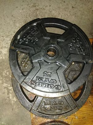 Golds gym weight set for Sale in Compton, CA