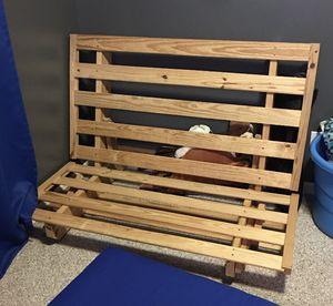 Wooden futon frame for Sale in Bessemer, AL