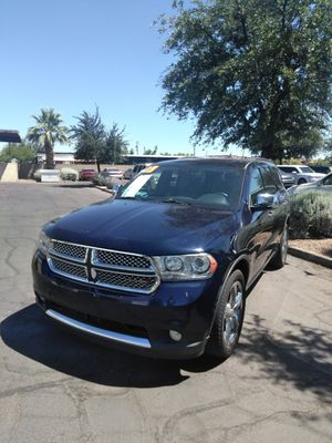 2013 dodge Durango citadel 🎉 we open Sundays 10 to 4 🎉 all credit welcome 🎉 aqui su amigo jesus les ayuda for Sale in Glendale, AZ
