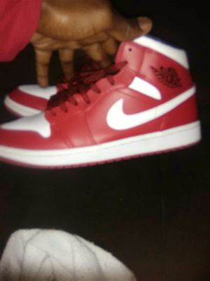 Jordan 1 red black white for Sale in Northport, AL