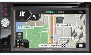 JENSEN VX7528 CAR DVD BLUETOOTH NAVIGATION STEREO NEW for Sale in San Diego, CA