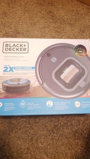 Black & Decker lithium ion robotic vacuum for Sale in Silver Creek, GA