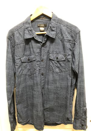Diamond Jack Mens Large Dress Shirt (navy) for Sale in Fort Mill, SC