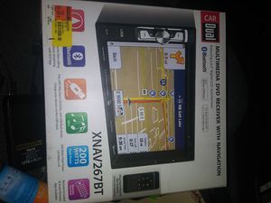 Dual 6.2 Inch Multimedia DVD Receiver with Navigation for Sale in Nashville, TN