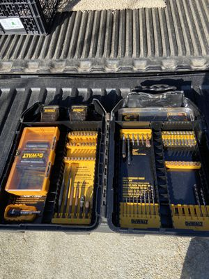 DEWALT IMPACT SET. 4 Small drill bits are missing. everything else is available. All in good condition. $15 price is Firm Must pick up in Law for Sale in Lawrenceville, GA