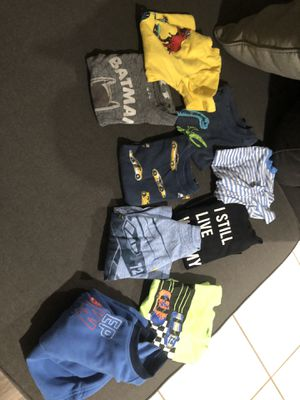 Free clean 2T shirts for boy for Sale in Rancho Cucamonga, CA