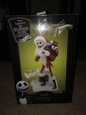 Nightmare before Christmas Jack and Zero deliveries statue for Sale in Temecula, CA