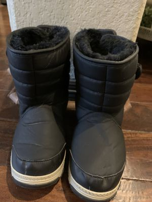 Kids size 3m ski/snow boots for Sale in Cypress, TX