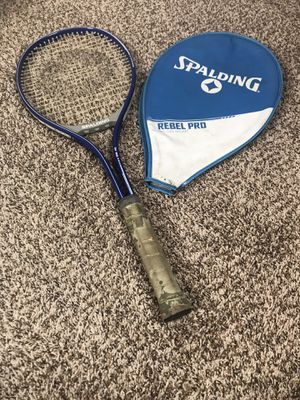 Spalding Rebel Pro Mid-Size Tennis Racquet w/Cover for Sale in Tallmansville, WV