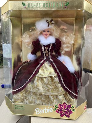 Happy Holidays Barbie 1996 for Sale in Roseville, CA
