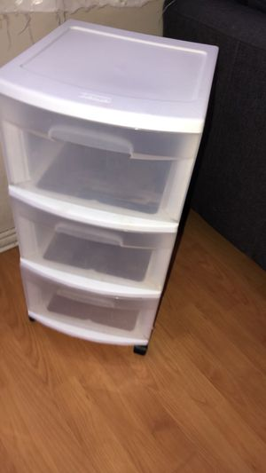 Plastic drawers for Sale in Santa Ana, CA