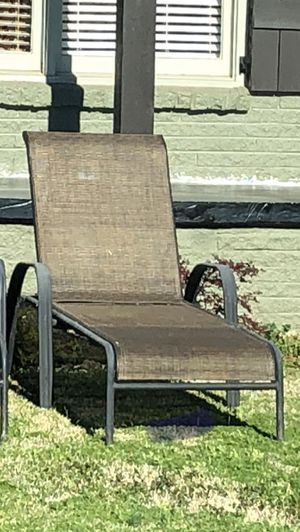 Patio furniture outdoor chair lounge chair pool furniture outdoor furniture for Sale in Stockbridge, GA
