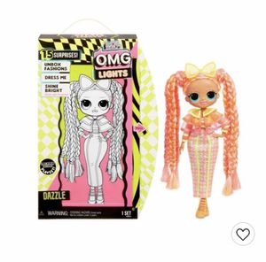 Lol Surprise OMG Lights Dazzle Fashion Doll for Sale in Columbus, IN