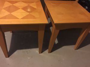 Two end tables or coffee table for sale for Sale in Dublin, OH