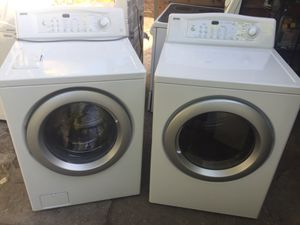 Washer and dryer from load kenmore working good for Sale in West Palm Beach, FL