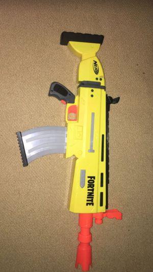 Fortnite scar nerf gun for Sale in Chapel Hill, TN