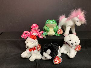 2007 TY Beanie Babies of the Month - Set of 6 for Sale in Shawnee, KS