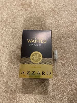Azzaro wanted by night - eau de parfum for Sale in Bolingbrook, IL