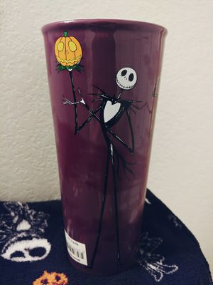 ( New ) Disney Nightmare Before Christmas Jack Skellington Travel Mug. for Sale in Chandler, AZ