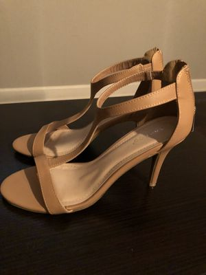 Bamboo strap heels. Size 8 for Sale in Chicago, IL