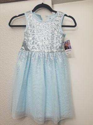 Girls Frozen 2 dress size 6 for Sale in Anaheim, CA