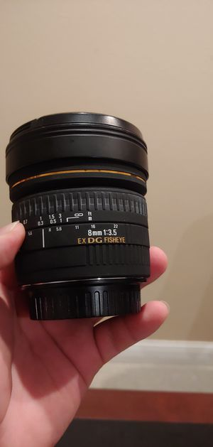 SIGMA LENSE 8M F3.5 EX for Sale in Sacramento, CA