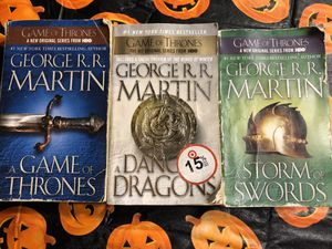Game of thrones books for Sale in Fort Worth, TX