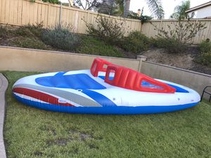 Inflatable Boat Island Party for Sale in Chula Vista, CA