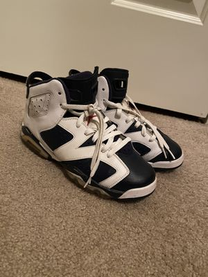 "Jordan retro 6 ""Olympic"" size 7Y for Sale in Issaquah, WA"