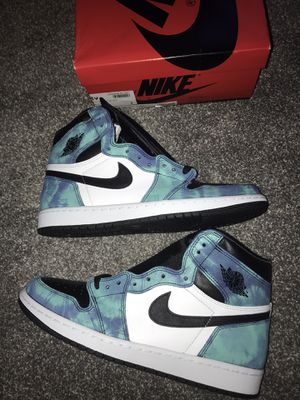 Jordan 1 tie dye size 9 men's for Sale in Centreville, VA