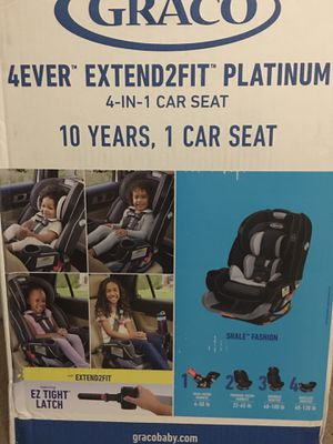 Graco 4in 1 convertible car seat for Sale in Loveland, OH