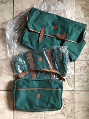 NOS Vintage 80's POLO by Ralph Lauren Travel Luggage Set w/Umbrella for Sale in Alameda, CA