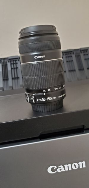 Canon 55-250mm for Sale in Carlsbad, NM