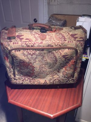Suitcase and travel iron for Sale in McKees Rocks, PA