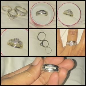 Wedding Band Set w/Engagement Ring for Sale in Nashville, TN