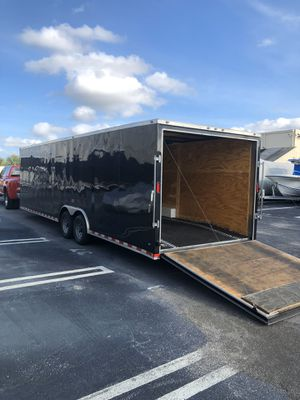 2018 diamond cargo enclosed trailer car hauler ready for Sale in Tamarac, FL