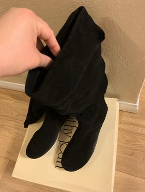 Cathy Jeans Size 7 Black Boots for Sale in Pico Rivera, CA