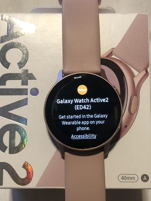New Samsung Galaxy active 2 watch 40mm NO CHARGER for Sale in Gardena, CA
