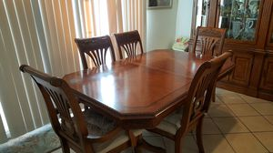 Dining Table Set - 6 Chairs for Sale in Anaheim, CA