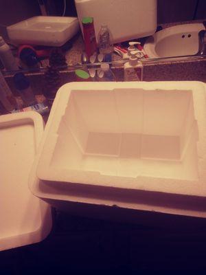 Styrofoam ice chest for Sale in Las Vegas, NV